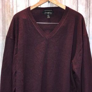 🍁Men's wool sweater soft long sleeve 3X fall